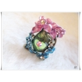 Clayre & Eef - Ring - Flowers - Multi Color - Swarovski element