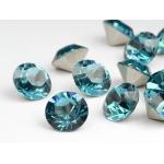 Melissa Jewelry Ketting met Hanger / 18k. Verguld en Swar.elementen - Waterdruppel - 4 modellen