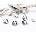 Venice Crystal - Ear Cuff - Oor Schelp Oorbel / Sieraad - Crystal blank - 5 cm