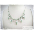 Mme Paul Charvet - Swarovski Elements Collier - Peridot / Jonquil / Erinite