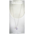 Mme Paul Charvet - Swarovski Elements Long Chain - Light Amathist / Violet