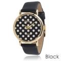 Geneva Platinum Dames Polka-dot Dial Watch 3ATM - Diverse kleuren