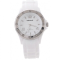 Behave - ICE Watch / Siliconen met crystal stenen - WIT - 3 ATM