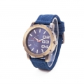Carsidun Watches - Jeans Stof - 3 in a row