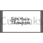 Jean Marie Thompson Gerhodineerde 'Speelkaarten' Cufflinks / Manchetknopen