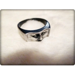 Aqua Line - Men of Thumb Rings - Steel in Style - FACE