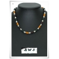 Boys With Style - BWS - Heren / Jongens Ketting Multi Color - 41 cm (nr. 48)