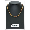 Boys With Style - BWS - Heren / Jongens Ketting Multi Color - 43,5 cm (nr. 50)