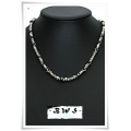 Boys With Style - BWS - Heren / Jongens Ketting - Metal Look - 43,5 cm (Nr. 52)