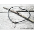 Eggplant - Jewelry - Steel In Style - Ketting Met Hanger - DRUNEN