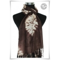 MB - Pashmina - Batik Brown - Foulards à La Mode / Dames Shawls
