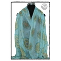 MB - Lange Dames Shawl - Sunflower - Foulards à la Mode / Dames Shawls