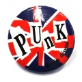 Going Retro - Trendy Button - Punk - Britain Style