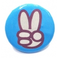 Going Retro - Trendy Button - Peace Hand