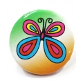 Going Retro - Trendy Button - Butterfly