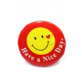 Going Retro - Trendy Button - Smiley - Have a Nice Day