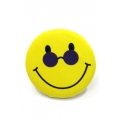 Going Retro - Trendy Button - Smiley Zonnebril