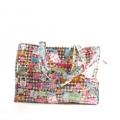 Going Retro - Strandtas - Shopper - Label - Multi colours pastel