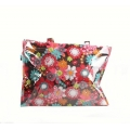 Going Retro - Strandtas - Shopper  - Bloemen (Rood of Groen)