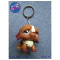 Littlest Pet Shop - Sleutelhanger - Hond V (English Bulldog)