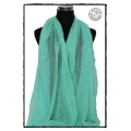 MB - Menthol with Gold Thread - Foulards à la Mode / Dames Shawls