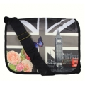 J & W Bags - Grote Flap Schoudertas - Big Ben UK flag