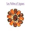 Les Folies d'Agnes Brôche - Bruin / Oranje