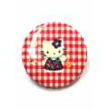 Going Retro - Trendy Button - Hello Kitty