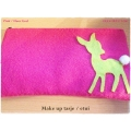 My Little Nature - Make Up tasje / Etui - Hertje (Bambi) - diverse kleuren